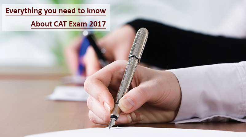 Common Admission Test 2017 Exam Date Announced – Check CAT Exam Full Schedule